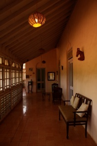 verandah at a renovated parsi home
