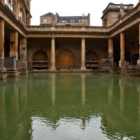 the romans and their baths...