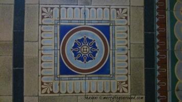 restored tiles