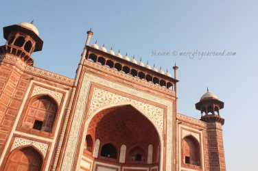 the darwaza itself takes your breath away