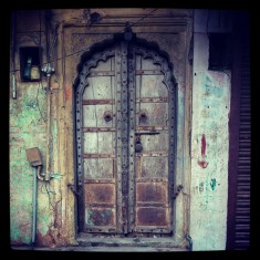 beautiful old doors open to another world
