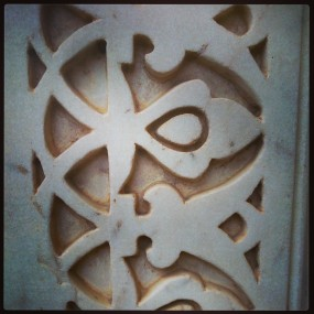 beautiful marble carving