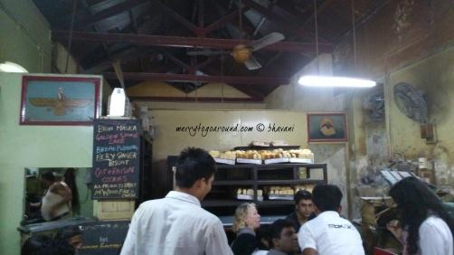 yazdani bakery - inside