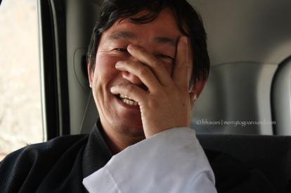 driver & guide at paro, bhutan