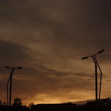 ... in the panjim sky
