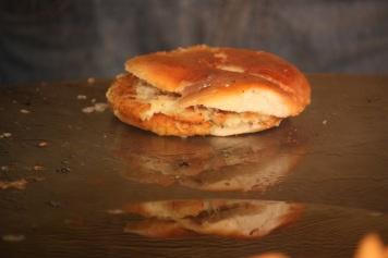 the famous bun-tik of nainital (an indian burger)