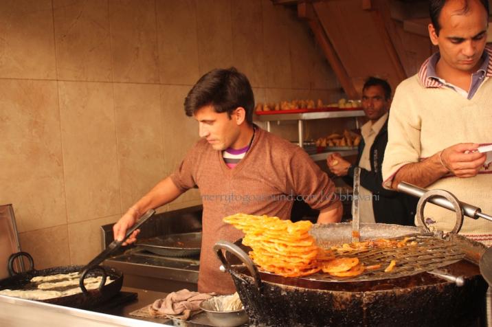 nathuram's in the lower bazaar