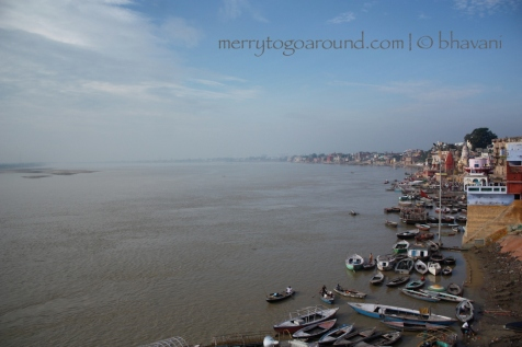 the sea-like ganga