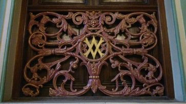 Victoria & Albert Museum - It's original name and emblem