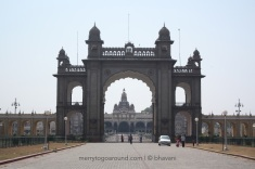 Mysore Palace - Main Gate