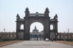 Mysore Palace - Main Gate