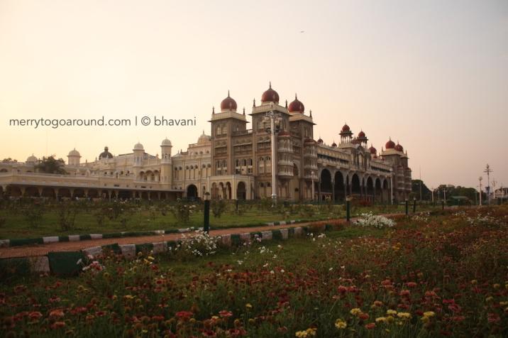 Oustide Mysore Palace