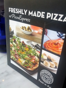 Book explaining their main pizzas