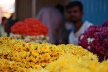 Can yellow be far away in India?
