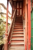Wooden steps ... to die for?