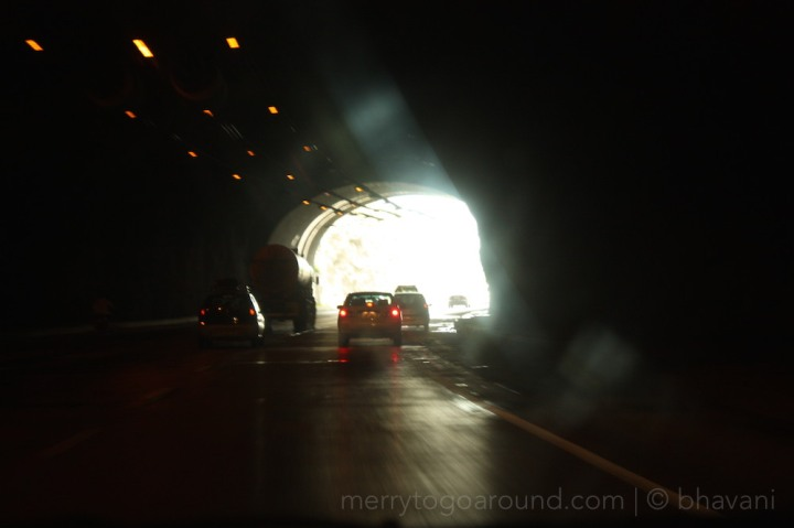 the light at the end of the tunnel is always home!