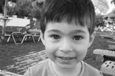 One of the cutest kids I've met!