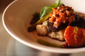 Oven-baked Mushroom Steak... brilliant!