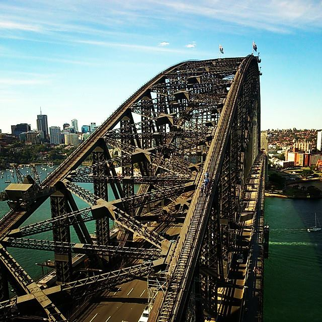 the sydney harbour bridge, more pictures and stories coming soon!