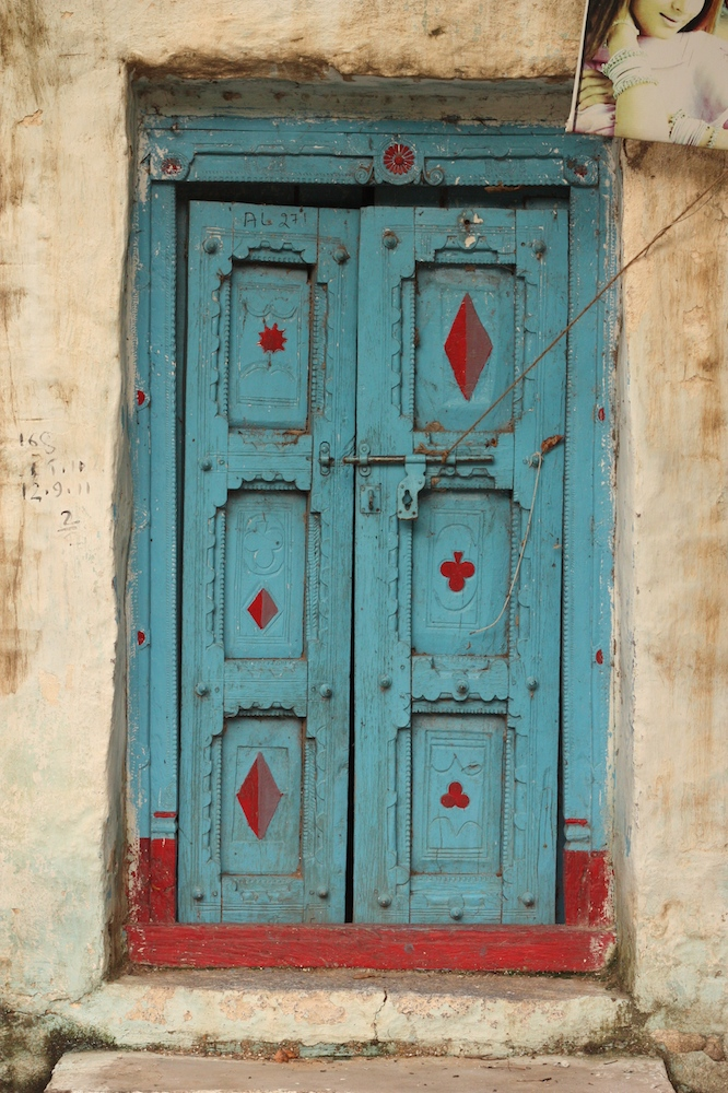 Just another door in Anegudi.