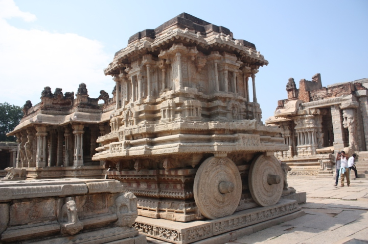 Not all famous sites live up to their hype - this does. And this chariot is spectacular.