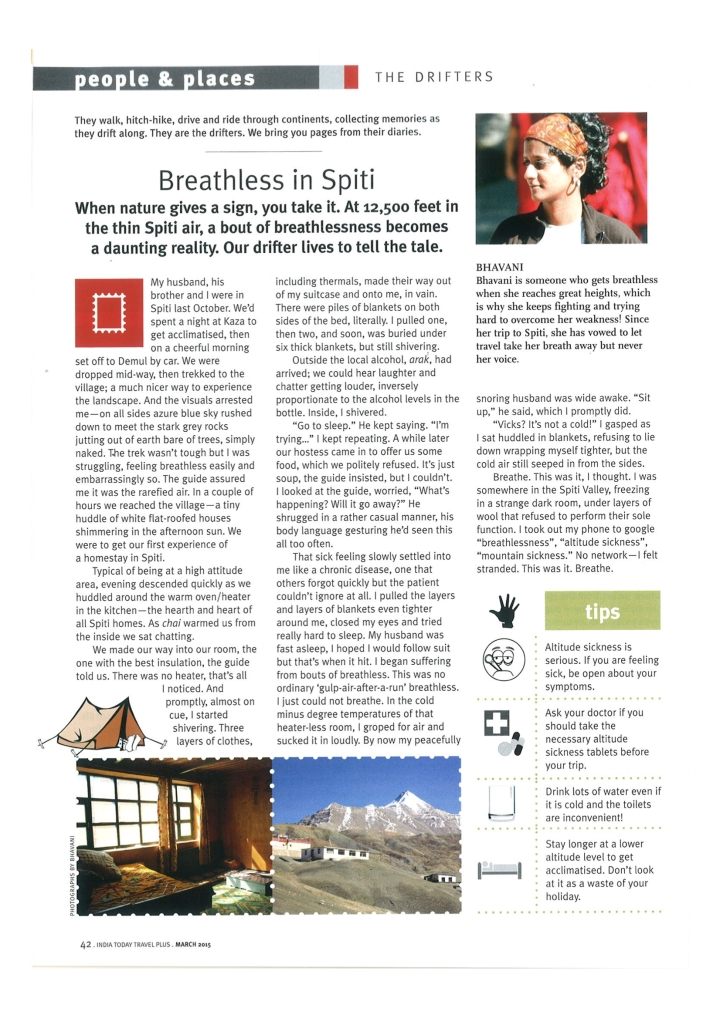 Travel Plus - Breathless - Bhavani