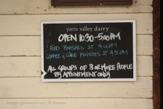 The Yarra Valley Dairy - eat the cheese, but don't miss the sumptuous desserts.
