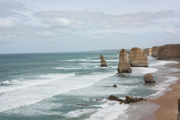 The 12 Apostles, or lesser now, and there might be more in the future