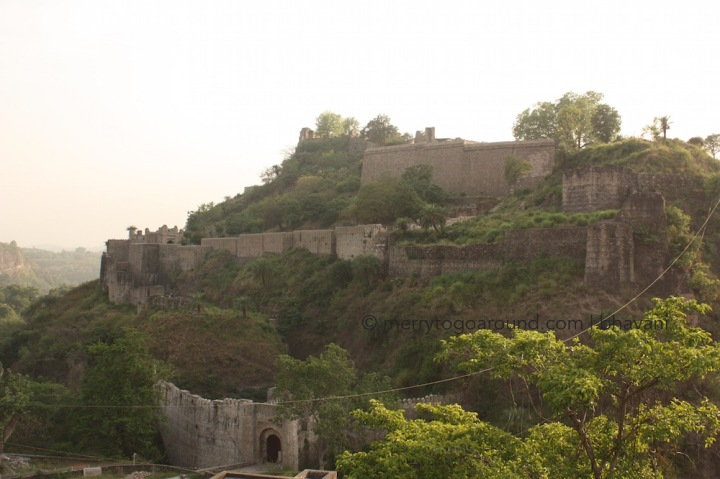 kangra fort: well-maintained fort with a great audio tour. don't miss this!
