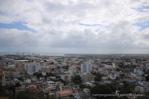 Port Louis from the Citadel