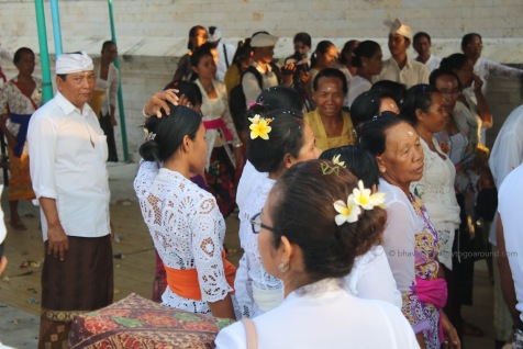 ... pretty lace white tops with flowers on their head
